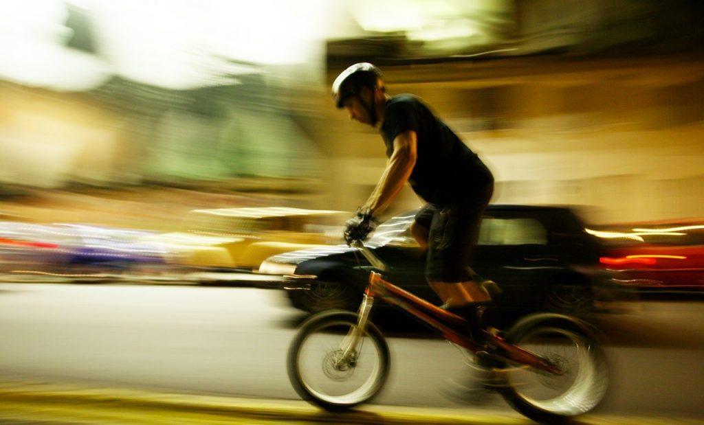 Biker-at-night-Milan-Italy-2